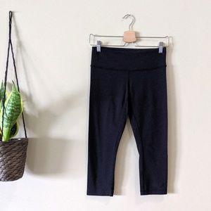 LULULEMON Black Crop Workout Legging